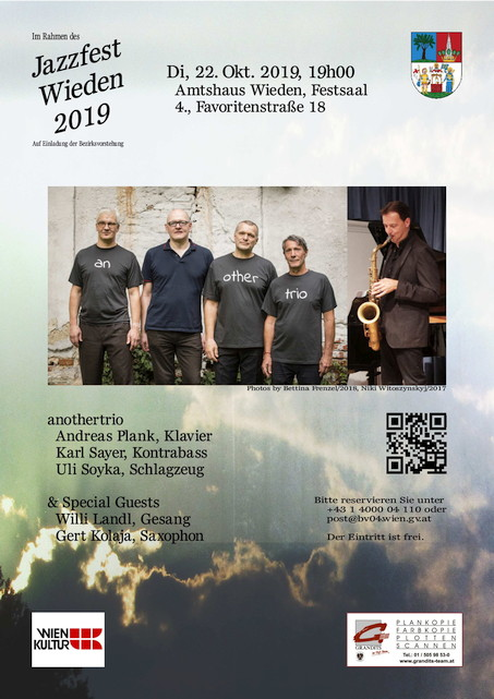 Veranstaltungsposter :: anothertrio :: & Special Guests (Okt. 2019)